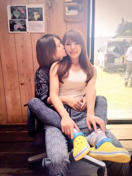 คู่หญิงรักหญิงแห่งวงการเอวีญี่ปุ่น Nanako & Sora หวานทั้งในและนอกจอ